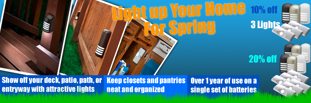 Spring Cleaning with LED Lighting
