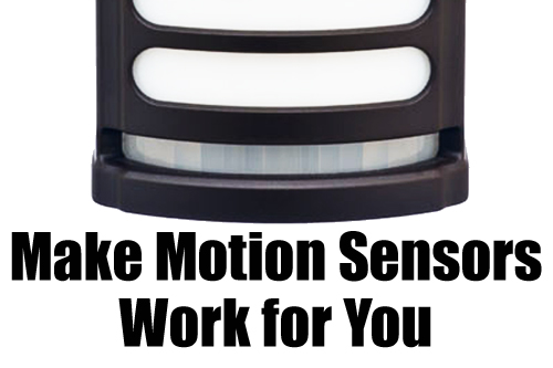 How to Make Motion Sensors Work